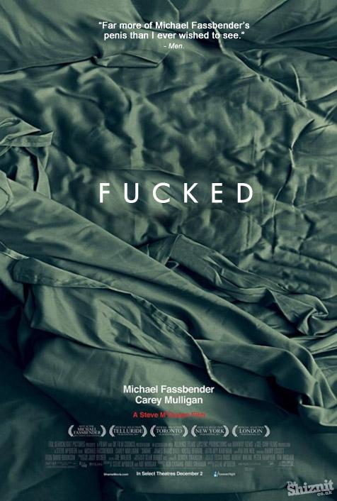 """凯文/电影《羞耻》,海报大意为:""""Michael的JJ比我预期中看到的还要..."""